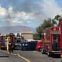 Roofers spark small fire at apartment complex near Vegas and Rancho