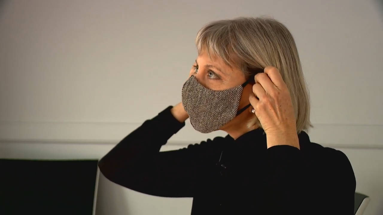 As COVID-19 cases continue to soar, Duke University Chemistry Professor Dr. Martin Fischer's lab study may help you decide if your mask is the best one you can get to protect yourself and others. (Photo credit: WLOS Staff)