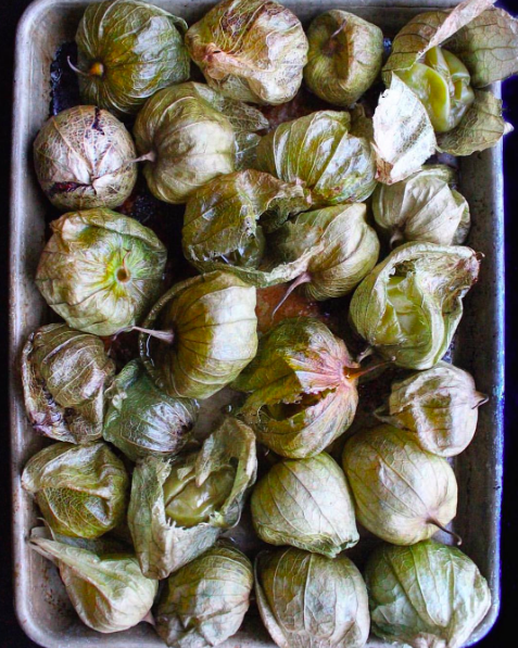 IMAGE: IG user @acooknamedmatt / POST: Throwback Roasted Tomatillos. Salsa recipe is on the site if ya want.
