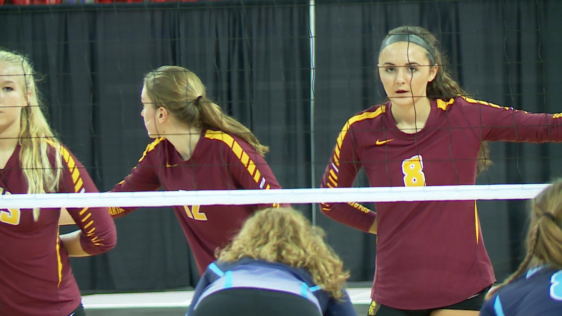 Luxemburg-Casco played Lakeside Lutheran in the Division 2 girls state volleyball championship Saturday at the Resch Center.{&amp;nbsp;}<p></p>