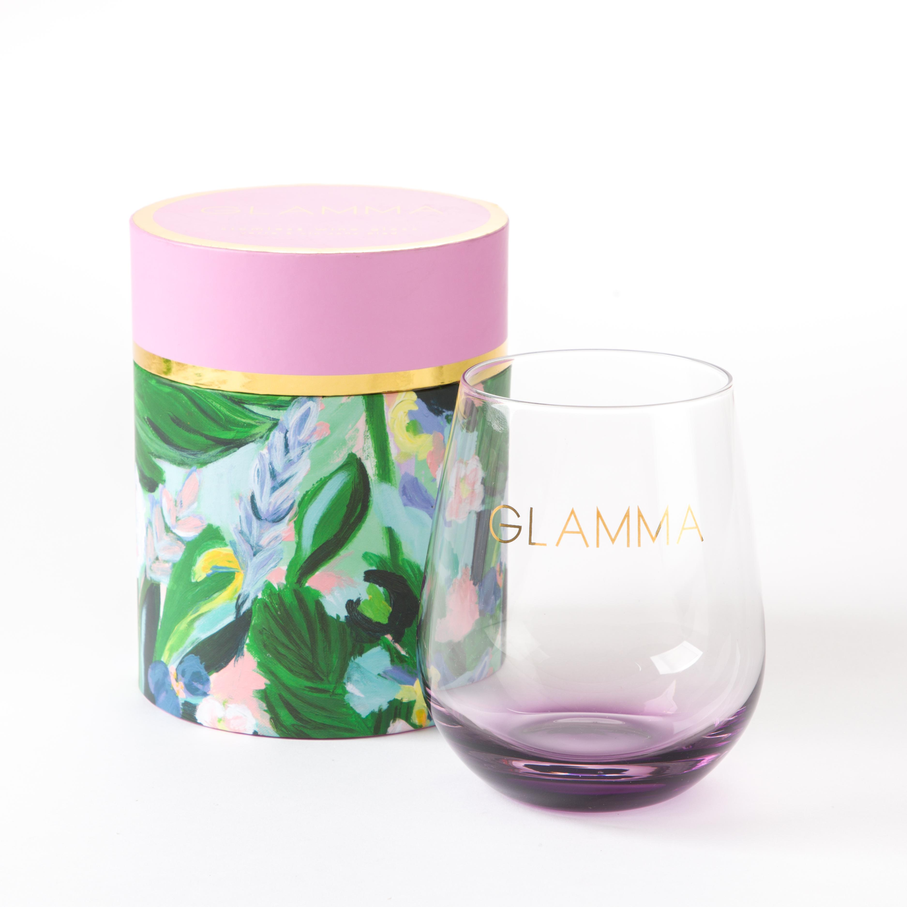 PAPYRUS Glamma Stemless Wine Glass // Price: $14.95// Purchase at PAPYRUS stores // (Photo: PAPYRUS)