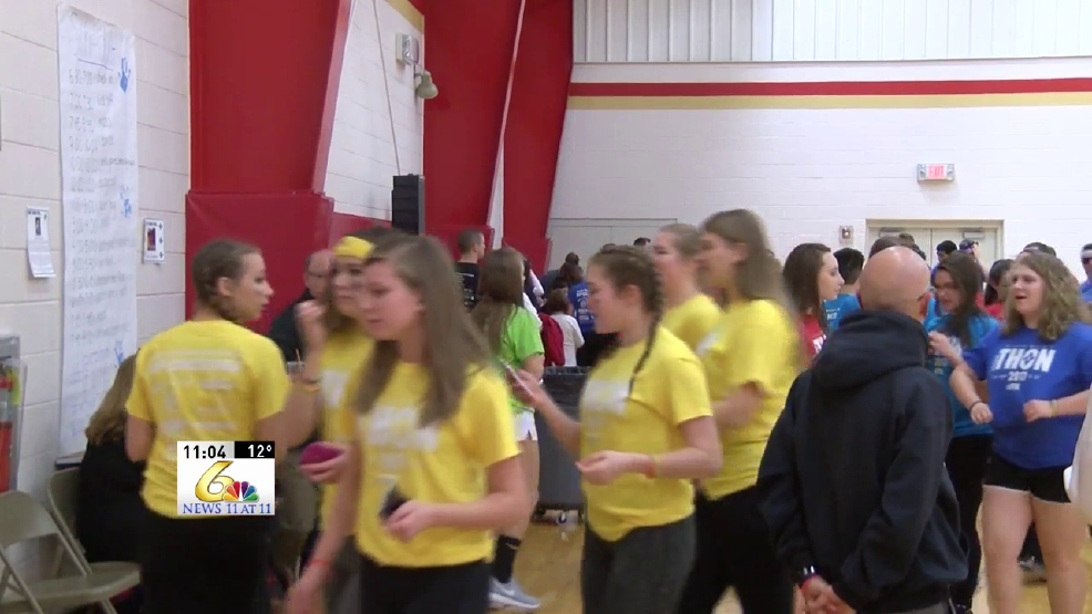 Bishop McCort holds Mini-Thon to raise money for childhood cancer