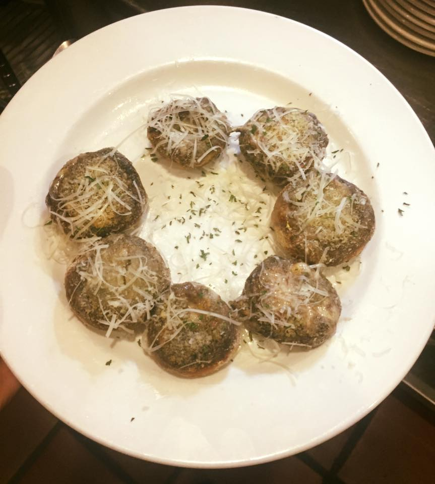 Stuffed mushrooms / Image provided by Ferrari's Little Italy and Bakery