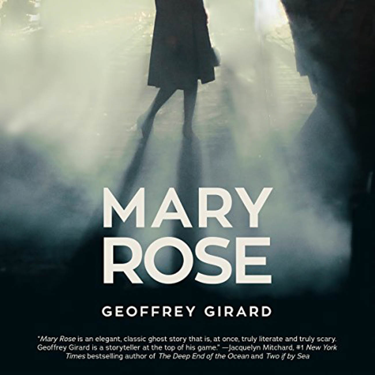 "In Geoffrey Girard's, ""Mary Rose,"" Simon Blake is determined to solve the mystery of what happened to his fiancé, Mary Rose Moreland, when she tells him she disappeared as a child in Scotland without any recollection of what took place over the 33 days she was gone. / Image courtesy of Audible // Published: 3.23.20"