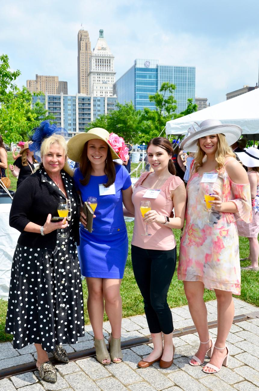 Judi Sturwold, Brandi Emerson, Mae Kuntz, and Lauren Burns / Image: Leah Zipperstein, Cincinnati Refined // Published: 5.18.18