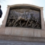 Sword breaks off Civil War memorial; Vandalism suspected