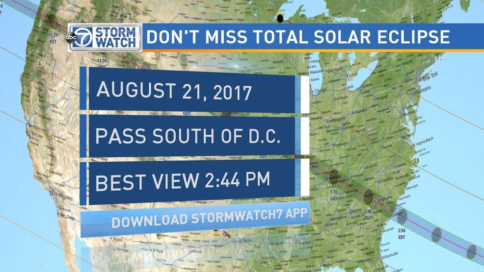 Solar Eclipse Viewing Spots & Events Across DMV