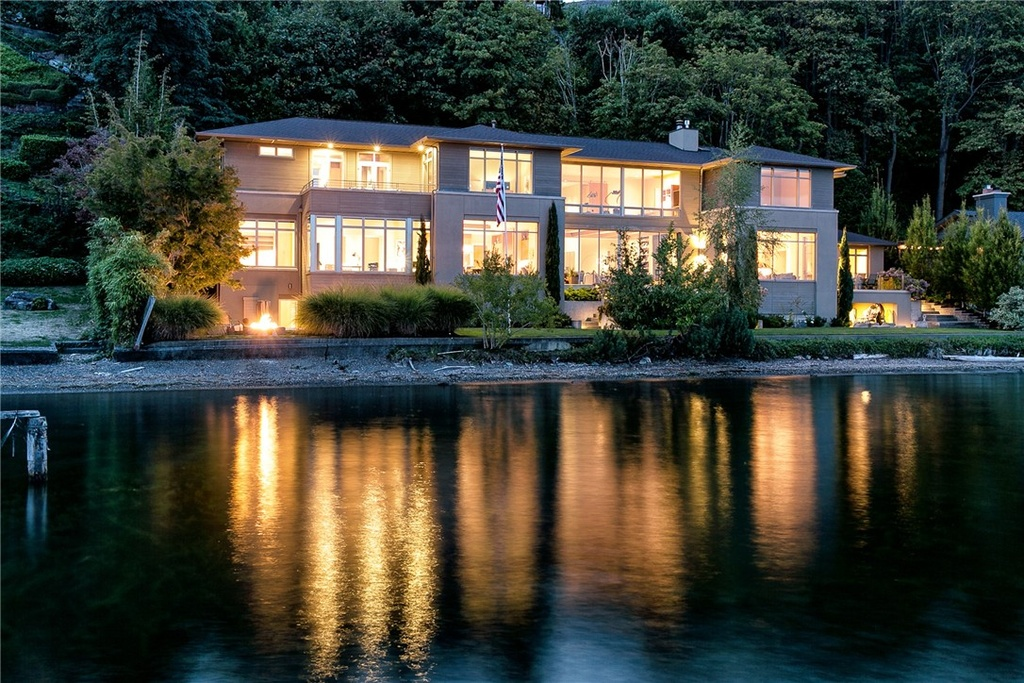 The most expensive home for sale in Seattle on Zillow is this 7 beds, 6.75 baths - going for $11,250,000 in the Laurelcrest Neighborhood. It's 11,809 square feet (Image Credit: Scott Manthey).