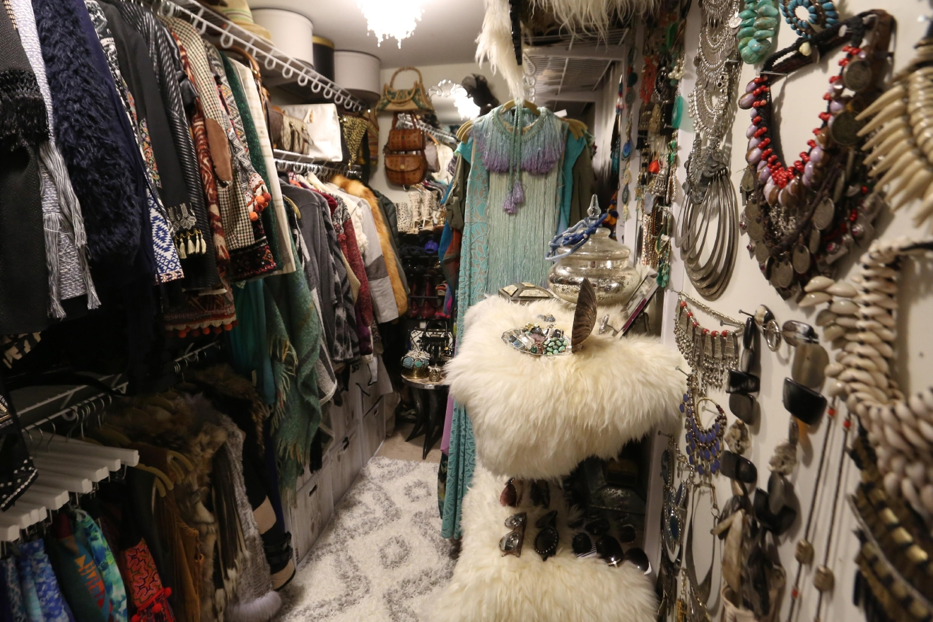 Two words: Closet envy. Ashley also collects a lot of her accessories and clothing abroad. (Amanda Andrade-Rhoades/DC Refined)
