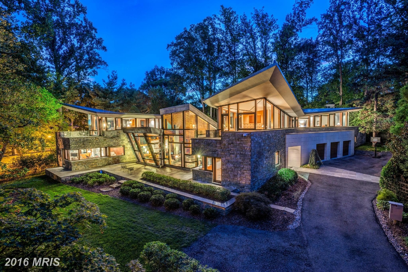 Another new property, this one built in 2009, sold in Bethesda Maryland in August for $6.5M -- it listed for $7,995,000. The house has 8 bedrooms and six bathroom, with four being full baths. TTR Sotheby's represented the seller and Wydler Brothers represented the buyer. (Image: Courtesy MRIS)