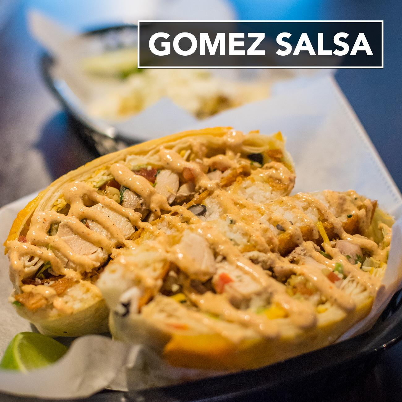 Gomez Salsa is located at 2437 Gilbert Ave., Cincinnati, OH  45206. / Image: Phil Armstrong, Cincinnati Refined // Published: 1.29.17