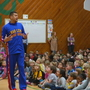 Globetrotters player teaches WNC students lesson about bullying