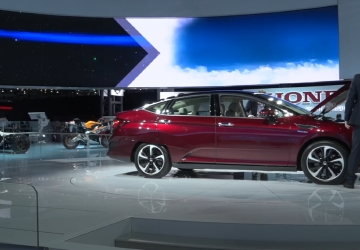 Honda shows off 3 versions of the same car that are better for environment at NY Auto Show