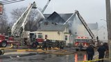 Three people taken to hospital as flames engulf New Bedford home