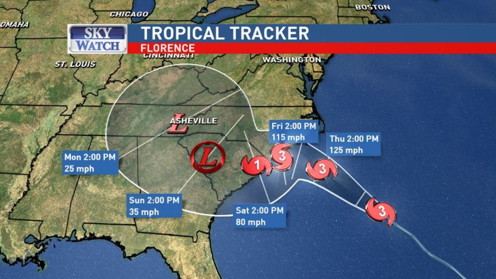Hurricane Florence Latest Evacuations Shelters Predictions For
