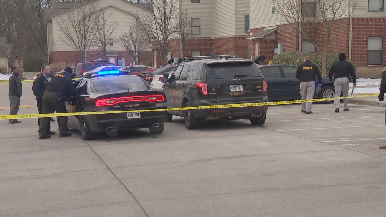 Authorities are investigating after a mother and her five-year-old child were shot outside a North Little Rock apartment complex early Friday morning. (KATV Photo)