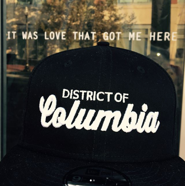 There's no better neighborhood to bust out the locally made threads! We're into this low key hat. (Image via @bailiwick_clothing)<p></p>
