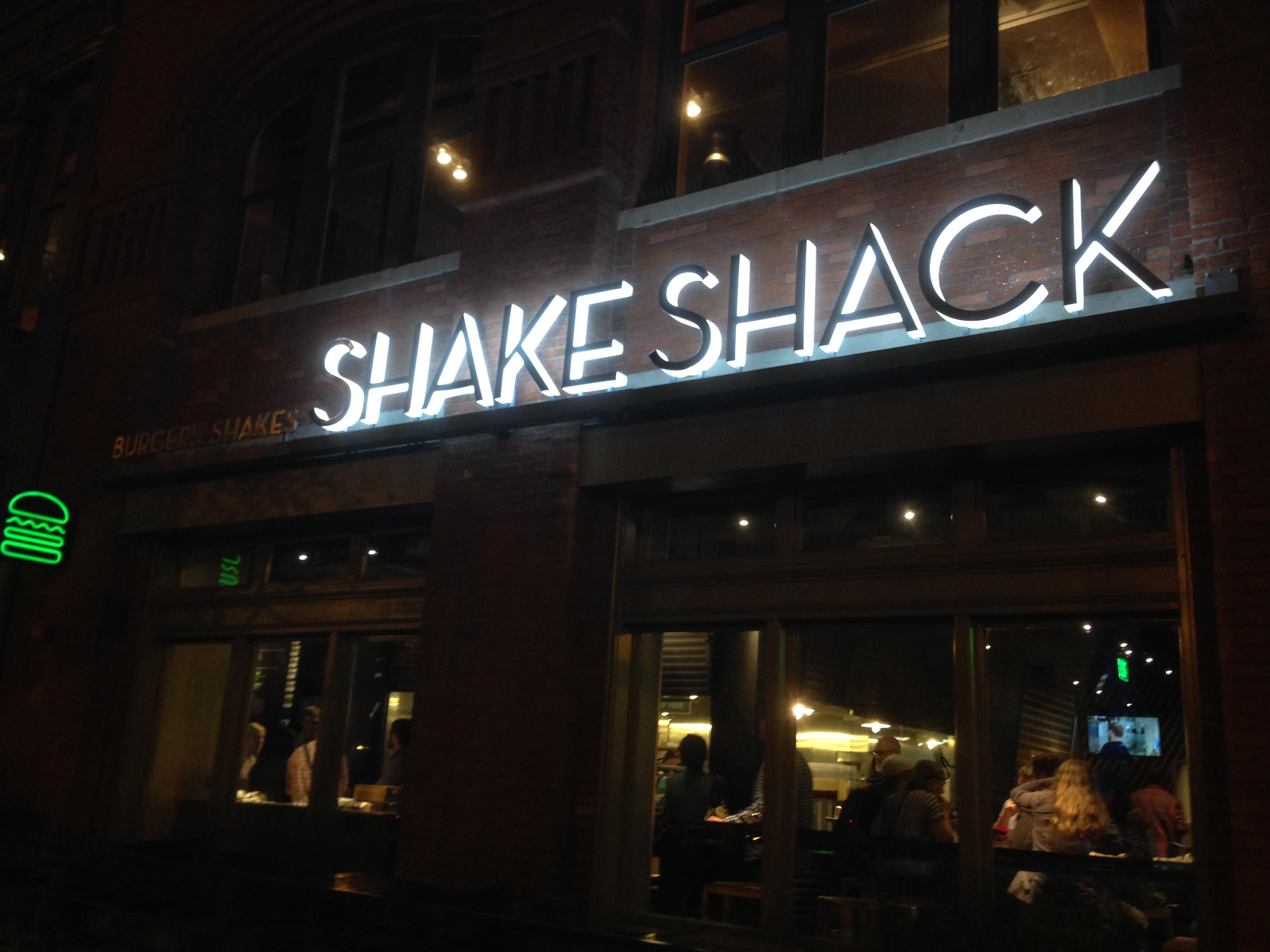 Shake Shack on F Street in Washington, DC. (Image: Frank Guanco)