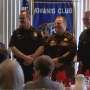Kiwanis Club Honors First Responders