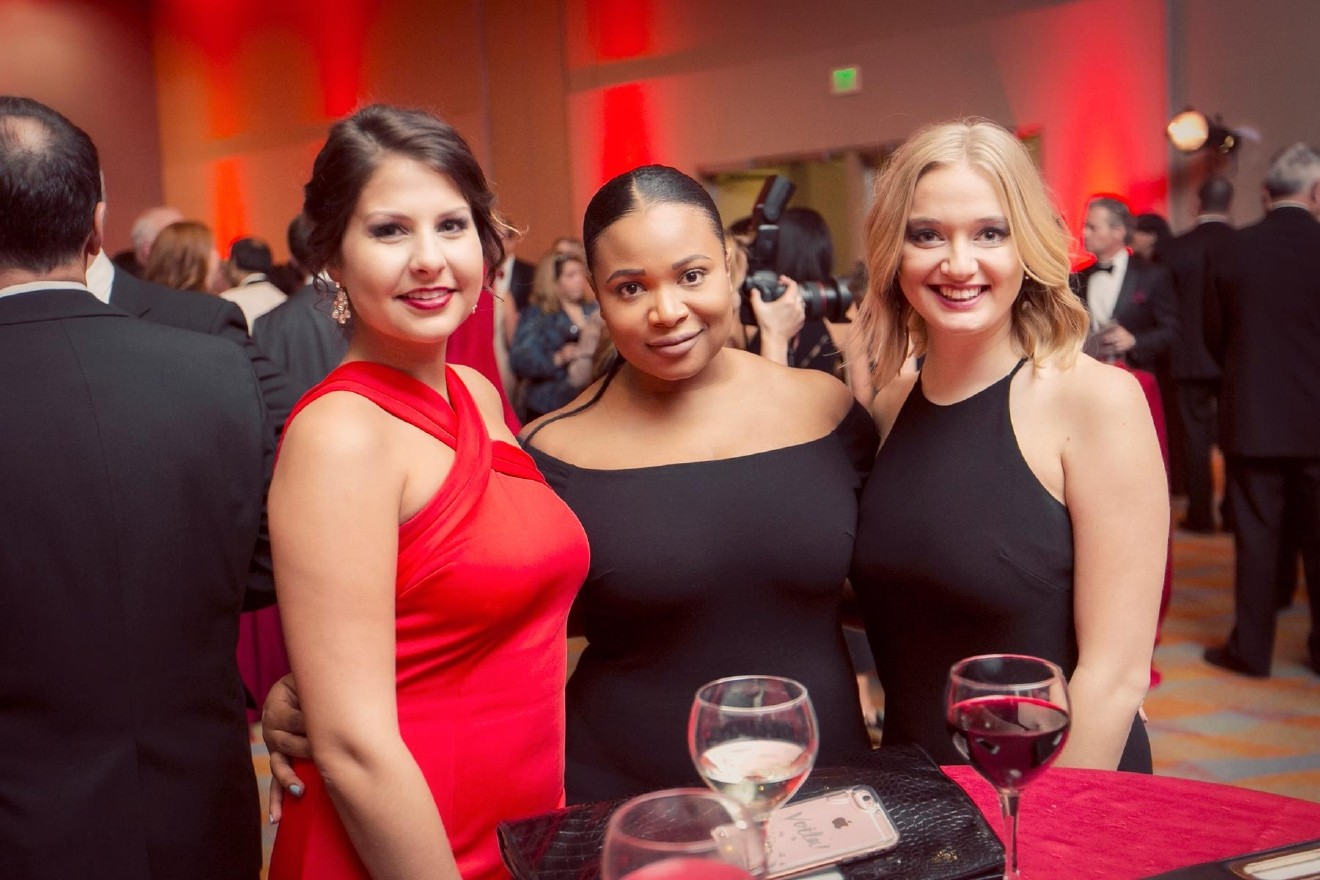 People: Rachel Wilhite, Cindy Moore, and Olivia Otting / Event: Heart Ball (2.25.17) / Image: Mike Bresnen Photography / Published: 3.2.17