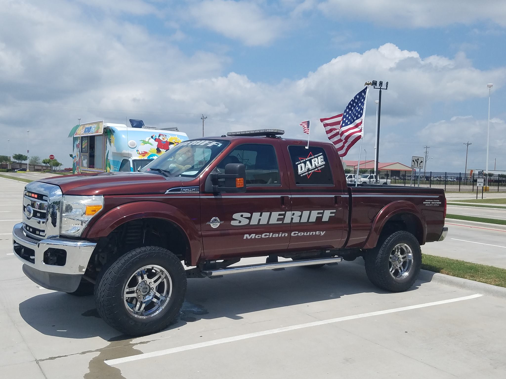 Mcclain County Sheriff Office. (Courtesy of Tony Martinez/KTUL)