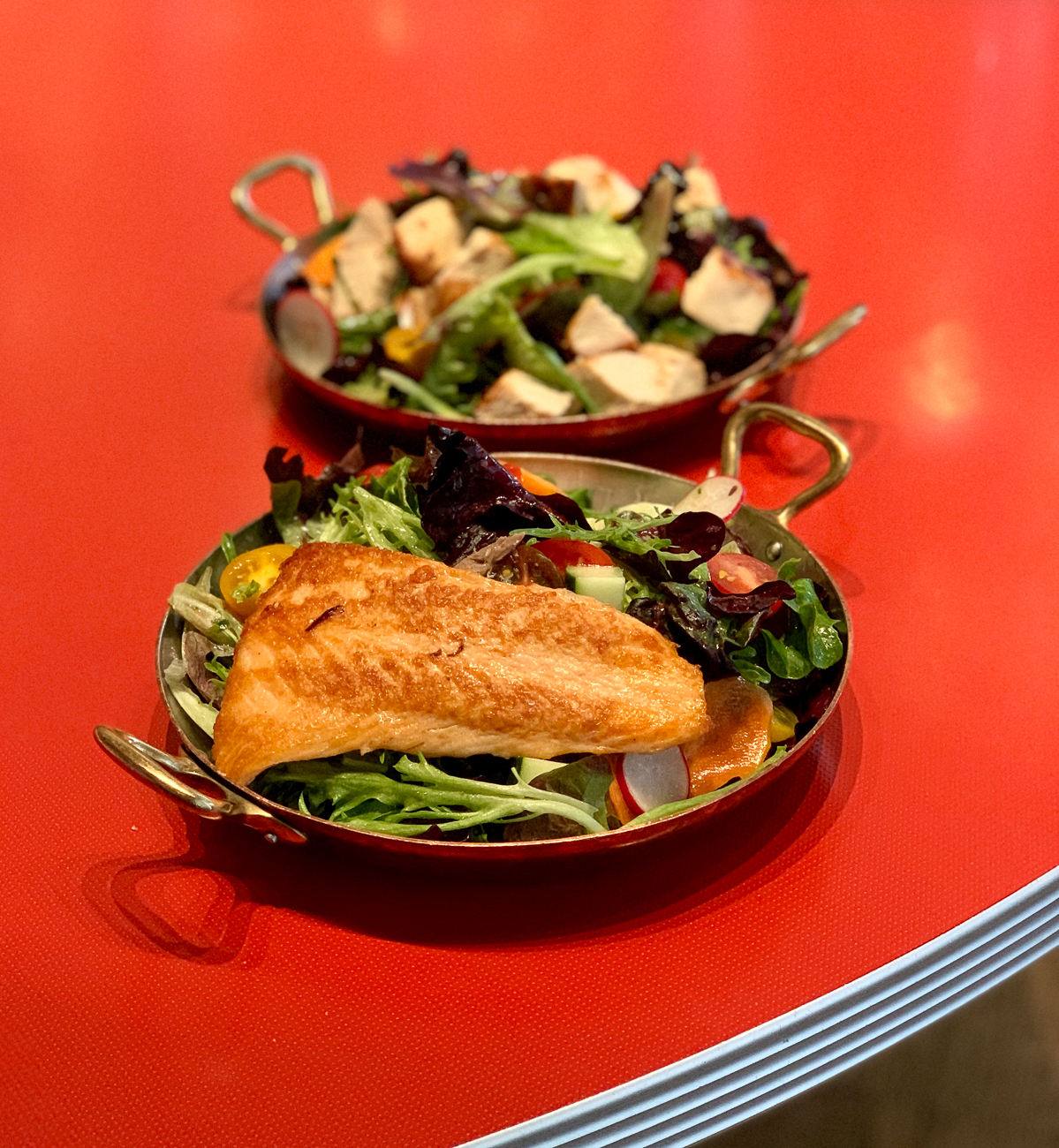 Salmon salad / Image courtesy of The Mercer OTR // Published: 5.14.20