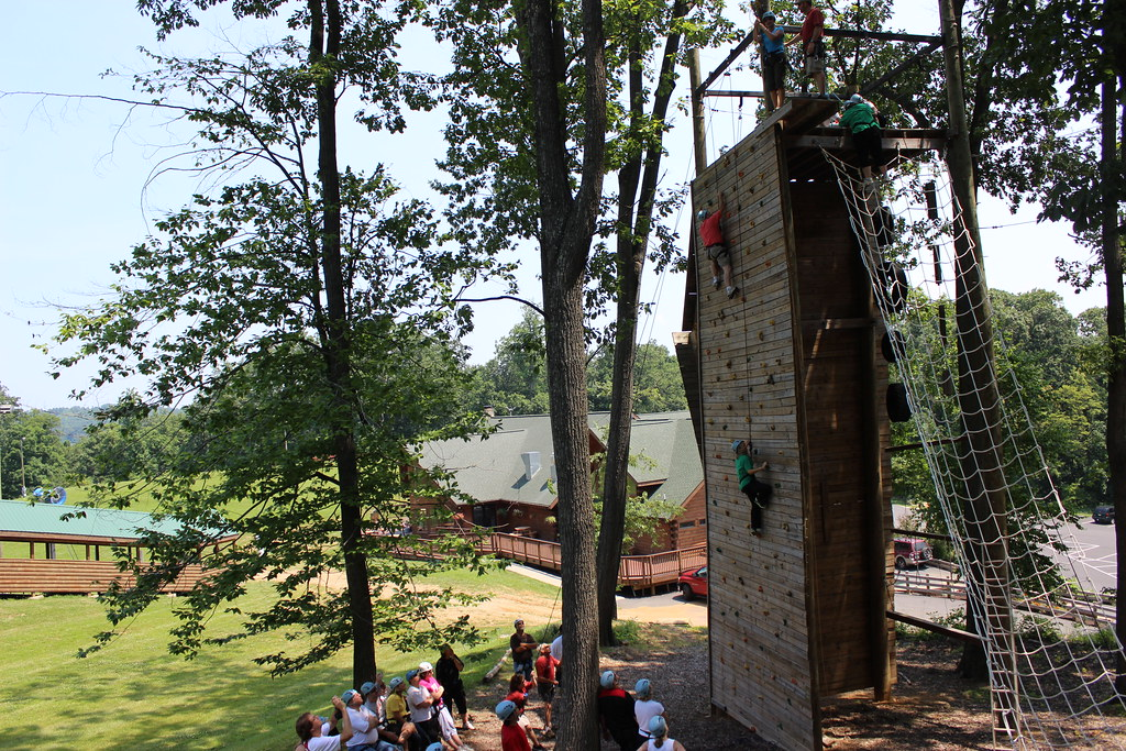 Liberty Mountain Resort isn't only for winter. During the spring season, try the zip-line, ropes course or climbing wall. (Image: Courtesy Mountain Resort)<p></p>