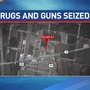 Hutto PD and other agencies seize 21 guns and drugs