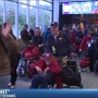 Honor Flight #13 heading to Washington, D.C.