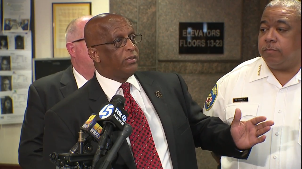 An appeal for help in fighting crime in Baltimore City