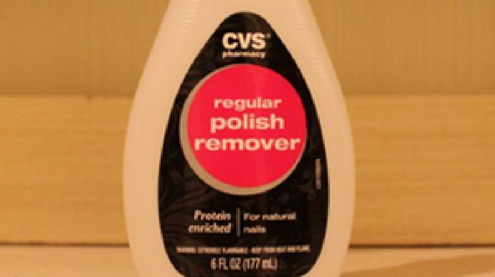 cvs limits sales of nail polish remover due to meth making