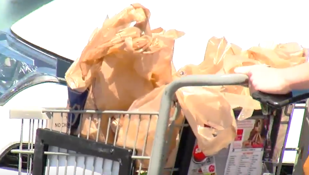 Ohio Gov. Mike DeWine plans to sign House Bill 242, which will stop any city from banning plastic bags, according to his press secretary. (WSYX/WTTE)