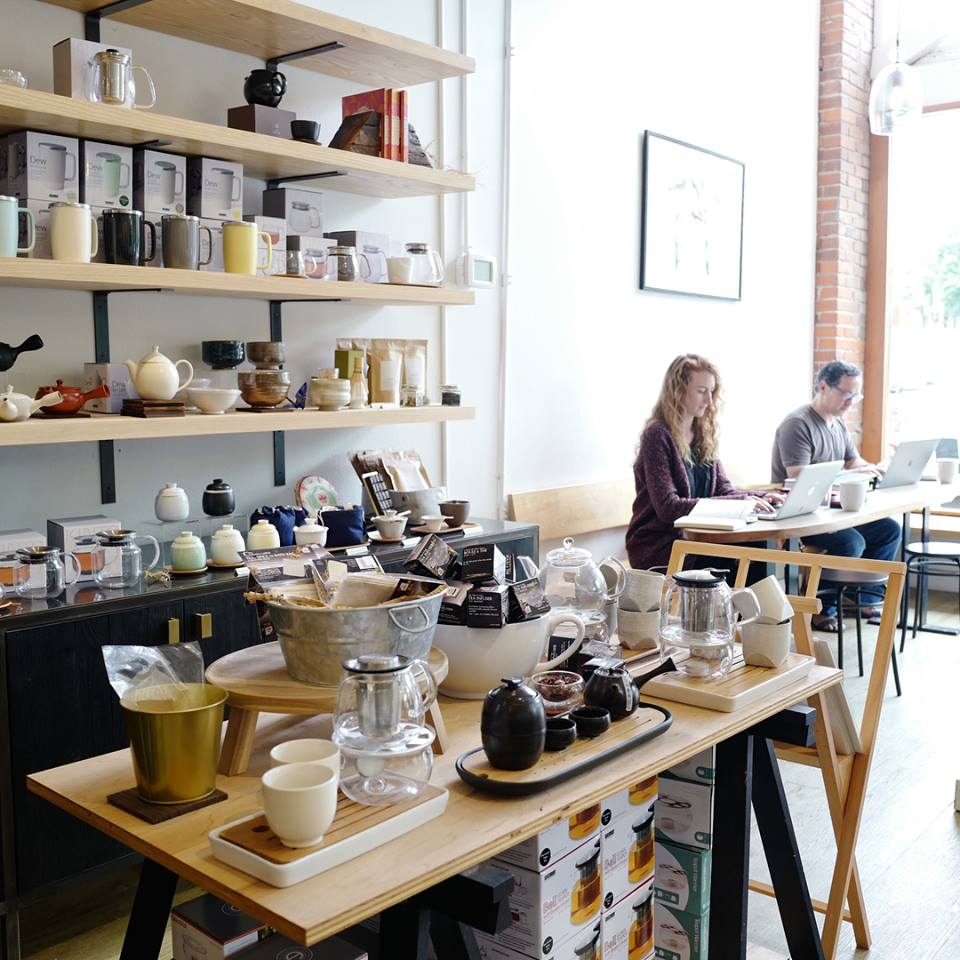 Located in Ballard, this tea shop encompasses both the feeling of a cozy place to hang out on a damp day and a contemporary tea bar with oodles of tea choices. They have over 150 different kinds of tea and herbal selections. (Image: Miro Facebook)