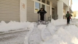Bridgton begins to dig out from almost two feet of snow