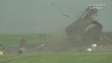 VIDEO: Tornado destroys barn in Nebraska