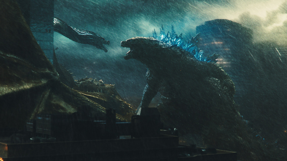 Weekend box office: 'Godzilla' sequel stomps past 'Aladdin'