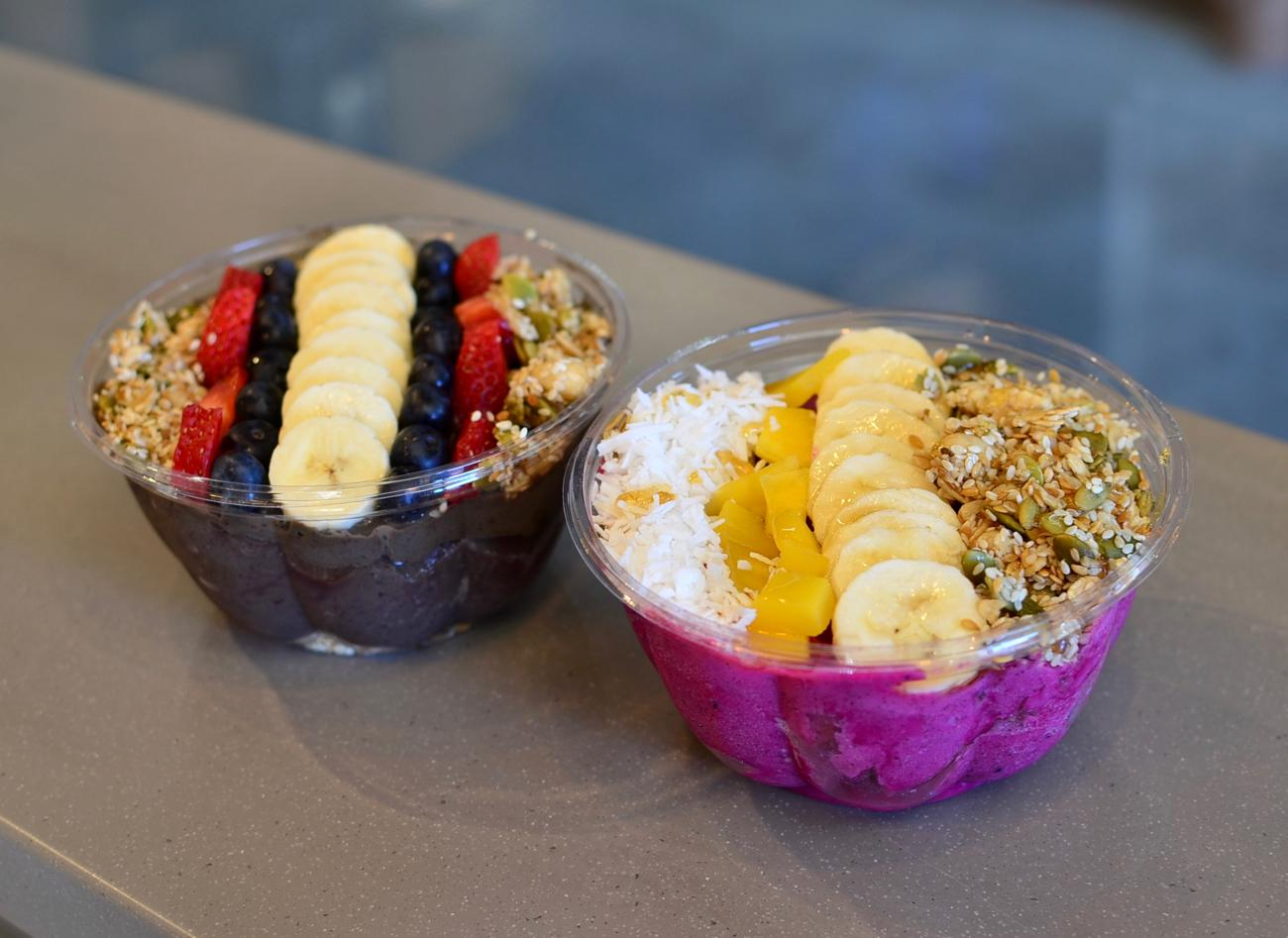 Green Farm Bowl and the Tropical Smoothie Bowl / Image: Leah Zipperstein, Cincinnati Refined // Published: 3.10.18<p></p>