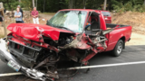 Woman flown to hospital with serious injuries following Limington crash