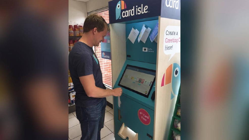 Vt grads create personal greeting card kiosk wset vt grads create personal greeting card kiosk m4hsunfo