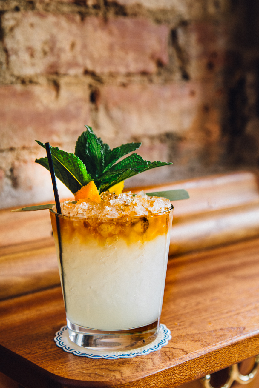 "Pictured: The French Mai Thai from Longfellow from the gallery ""This OTR Bar Is Bringing A Little Euro-Cafe Feel To The Queen City"" / Image: Catherine Viox // Published: 12.31.17"