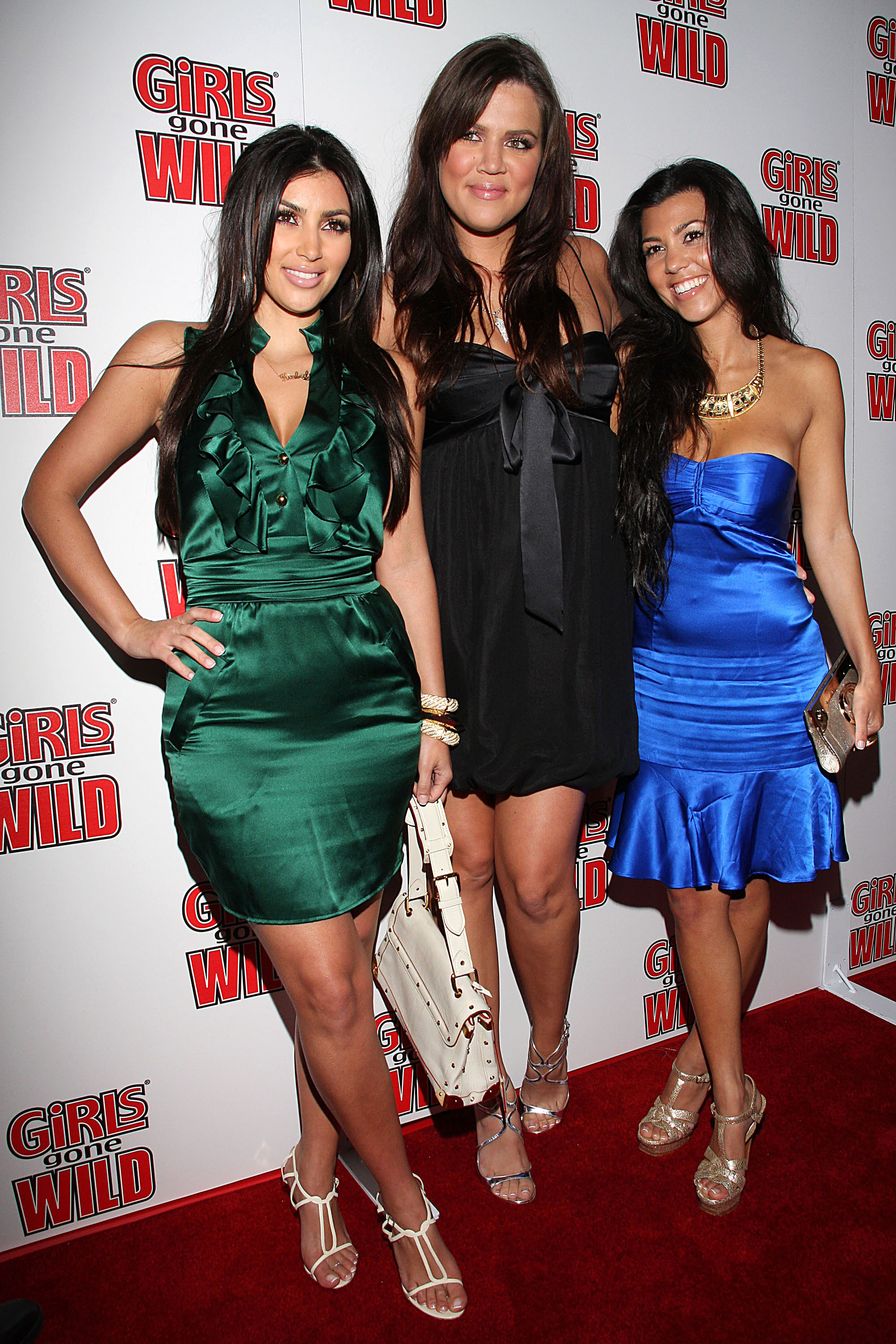 Kim Kardashian, Khloe Kardashian and Kourtney Kardashian Girls Gone Wild magazine launch party at Area West Hollywood, California - 22.04.08  Where: United States When: 22 Apr 2008 Credit: Rachel Worth / WENN