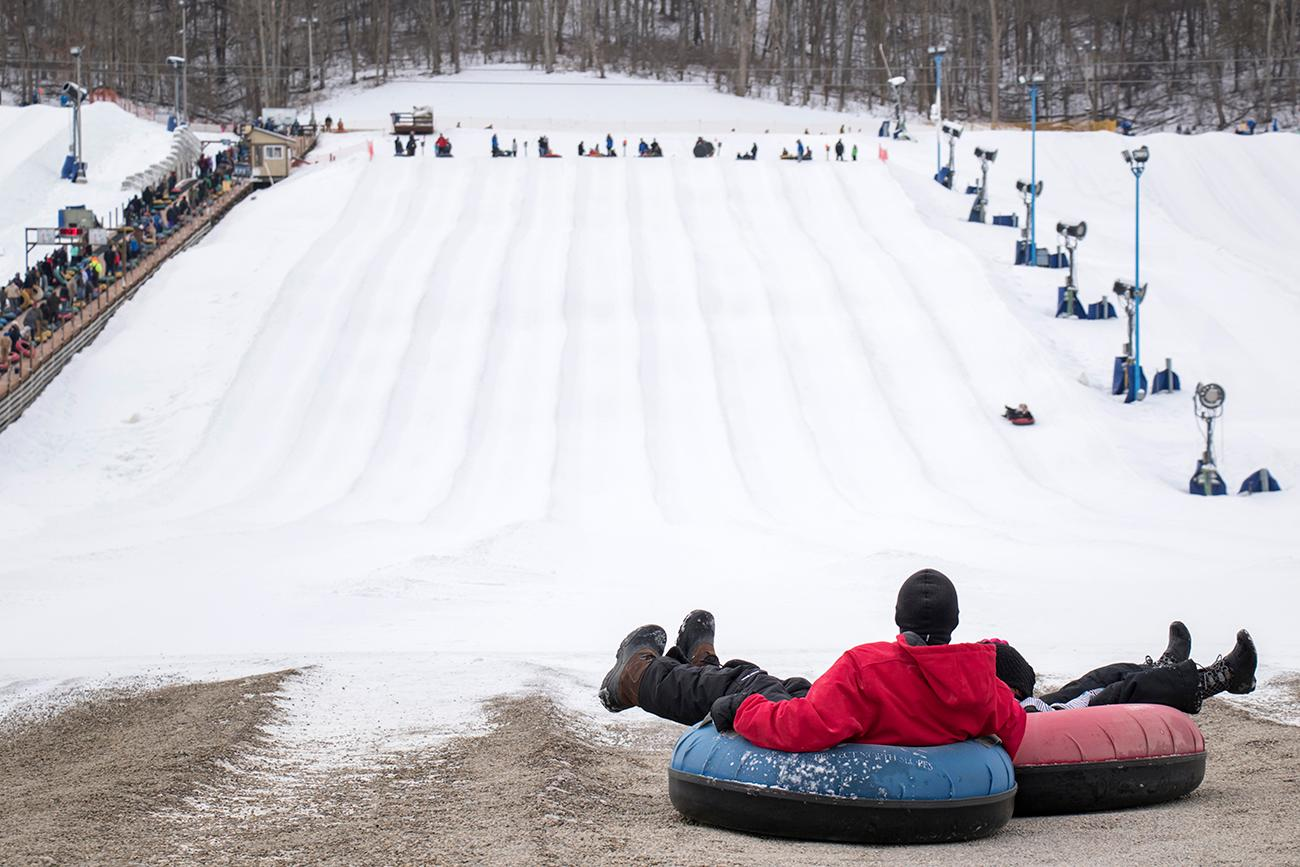 Choose from 23 lanes of sliding down a snowy 1200-foot long run. / Image: Allison McAdams // Published: 1.17.18<p></p>