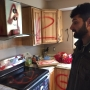 Man's home ransacked, spray-painted with death threats and anti-Muslim graffiti
