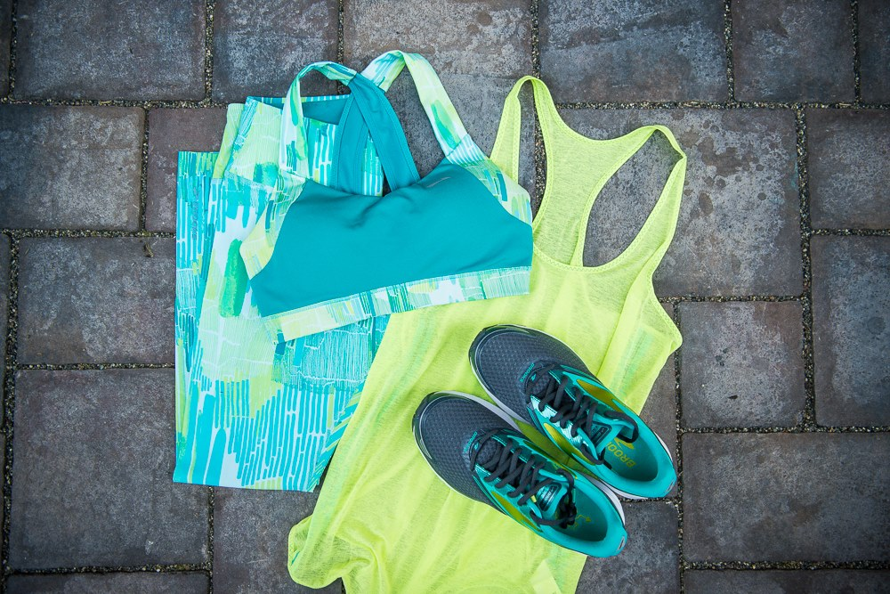 I'm officially obsessed with the new Spring line.  So many bright colors. (Image: Brooks Running)