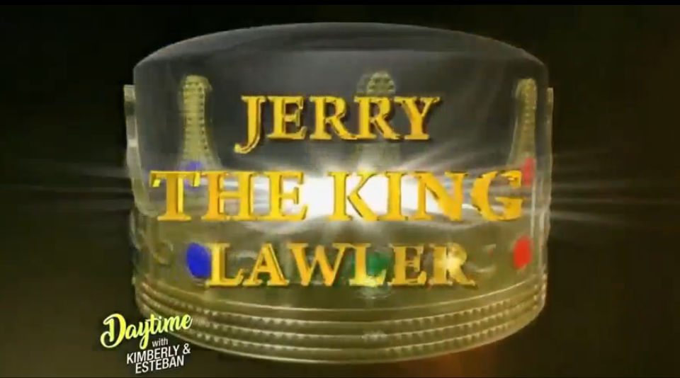 "Daytime - Jerry ""The King"" Lawler"