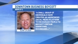 Studer responds to downtown business boycott