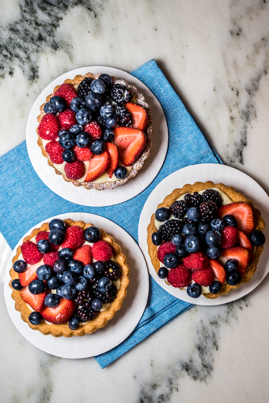 Mixed fruit tart / Image: Catherine Viox // Published: 7.14.20