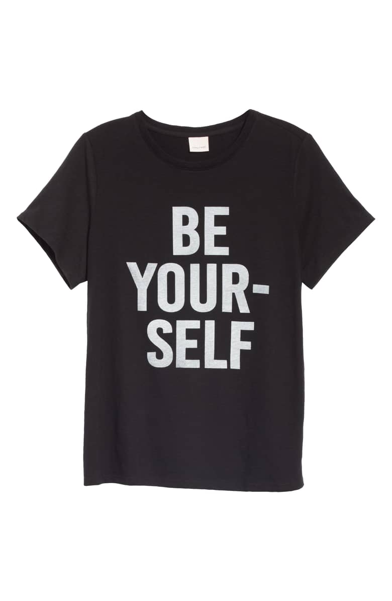 Cinq a Sept Be Yourself Tee, $85.{ }Ballin' on a budget this season? Nordstrom found priceless gifts all under $100. You're welcome! (Image courtesy of Nordstrom).