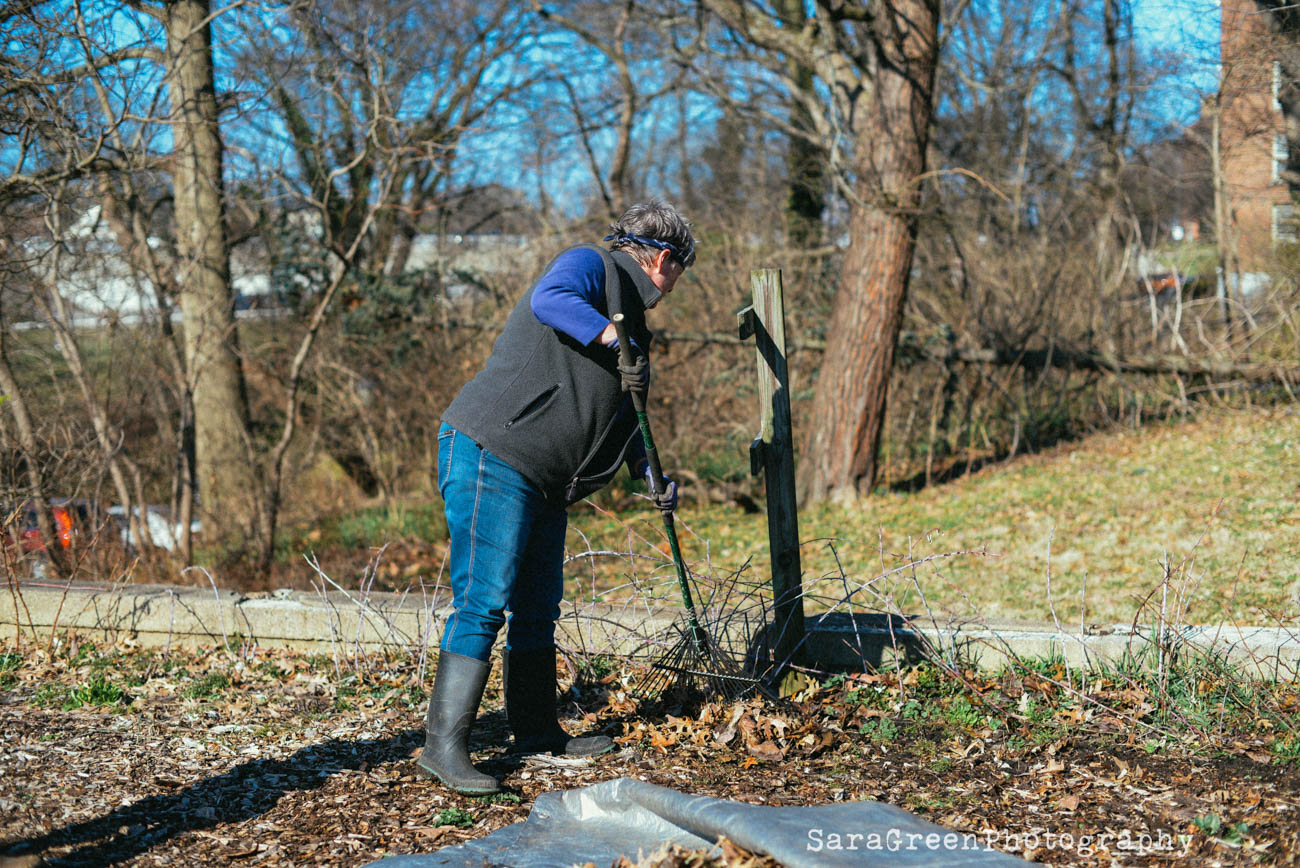 Karen Weiland, food garden volunteer / Image: Sara Green Photography // Published: 4.18.19