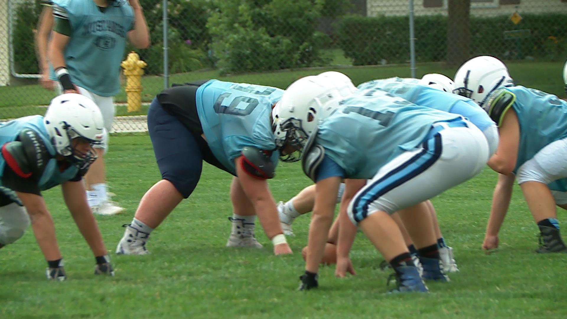 Little Chute is under new leadership this season as Ted Evers is the new head coach. (WLUK)